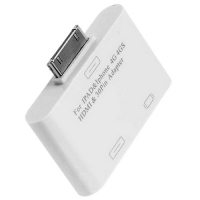 адаптер iphone, ipad(30 pin) на hdmi и iphone, ipad(30 pin)