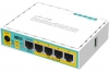 Маршрутизатор MikroTik RB750UPr2 hEX PoE lite